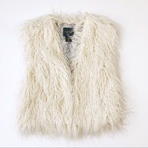 AS by DF Revolution Faux Fur Shag Vest